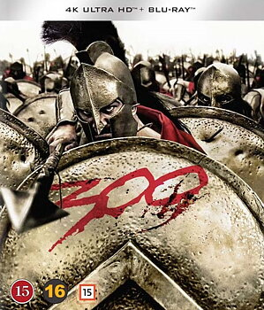 300 (4K Ultra HD Blu-ray + Blu-ray)