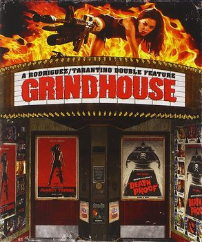 Grindhouse (Planet Terror / Death Proof) (Special Edition) (ej svensk text) (Blu-ray)