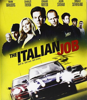 Italian Job (ej svensk text) (Blu-ray)