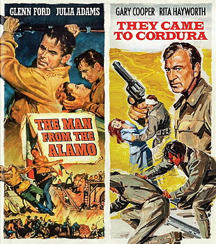 Man From the Alamo / They Came To Cordura (ej svensk text) (Blu-ray)