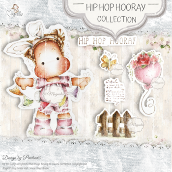 MAGNOLIA  -SB-20 Hip Hop Hooray Art Stamp Sheet