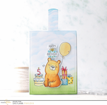 STUDIO KATIA-KOBI THE BIRTHDAY BEAR