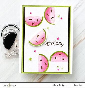 ALTENEW -Mini Delight: One in a Melon Stamp & Die Set