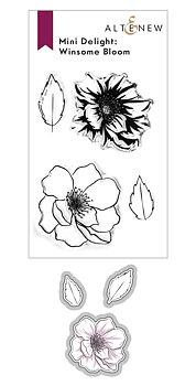 ALTENEW -Mini Delight: Winsome Bloom Stamp & Die Set
