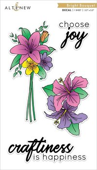 ALTENEW -Bright Bouquet Decal Set - Mini