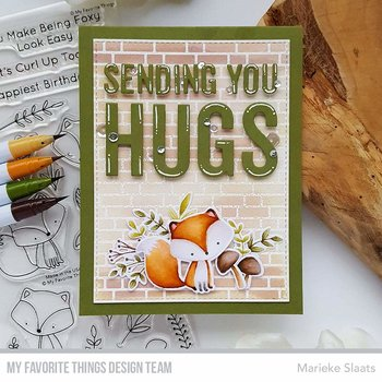 MY FAVORITE THINGS -Sending You Hugs Die-namics