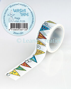 Leane Creatief Washi Tape Flags