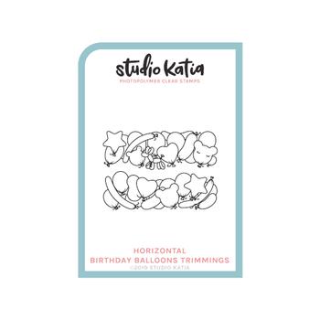 STUDIO KATIA-BIRTHDAY BALLOONS - HORZ