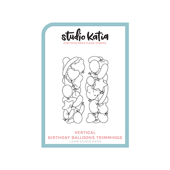 STUDIO KATIA-BIRTHDAY BALLOONS - VERT