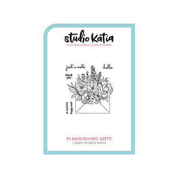 STUDIO KATIA-FLOURISHING NOTE