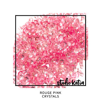 STUDIO KATIA-ROUGE PINK CRYSTALS