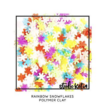 STUDIO KATIA-RAINBOW SNOWFLAKES