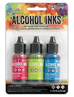 RANGER -Tim Holtz  Alcohol Ink Kit -Dockside Picnic