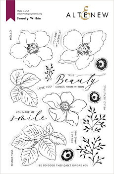 ALTENEW -Beauty Within Stamp Set