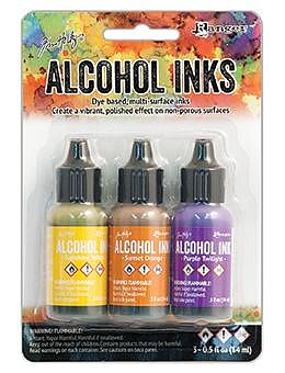 RANGER -Tim Holtz  Alcohol Ink Kit Summit View