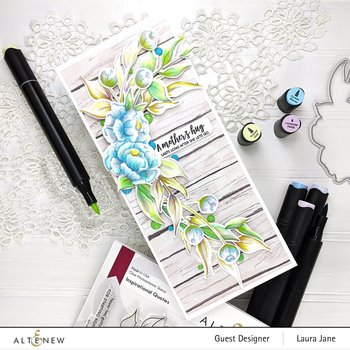 ALTENEW -Inspirational Quotes Stamp Set