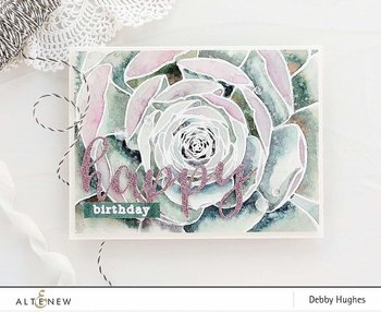 ALTENEW -Mega Succulent Stamp Set