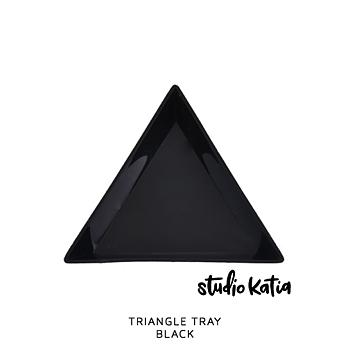 STUDIO KATIA-TRIANGLE TRAY - BLACK