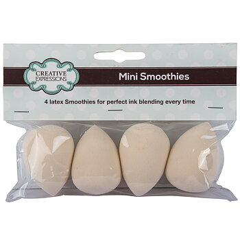 CREATIVE EXPRESSIONS-Mini Smoothies pk 4 latex smoothies