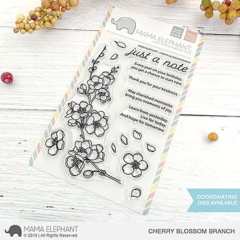 MAMA ELEPHANT-CHERRY BLOSSOM BRANCH