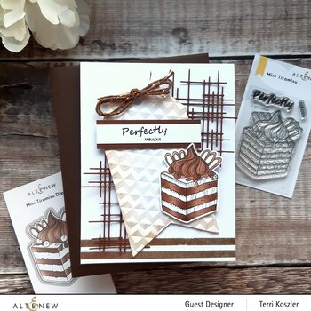 ALTENEW -Mini Tiramisu Stamp & Die Bundle