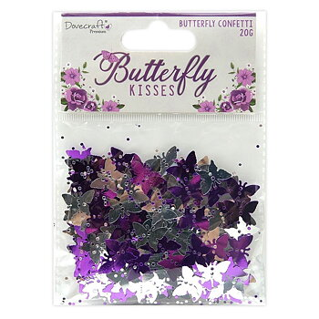 Dovecraft Butterfly Kisses Butterfy Confetti