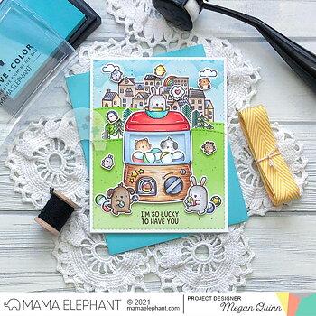 MAMA ELEPHANT-LIL TOY MACHINE - CREATIVE CUTS
