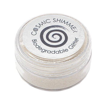 Cosmic Shimmer Biodegradable Fine Glitter White Mist 10ml