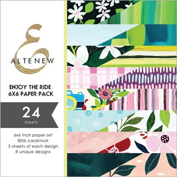 ALTENEW-Enjoy the Ride 6x6 Paper Pack