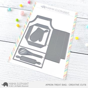 MAMA ELEPHANT-APRON TREAT BAG - CREATIVE CUTS