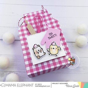 MAMA ELEPHANT-APRON TREAT BAG - CREATIVE CUTS