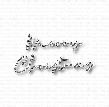 GUMMIAPAN -  Merry Christmas  die