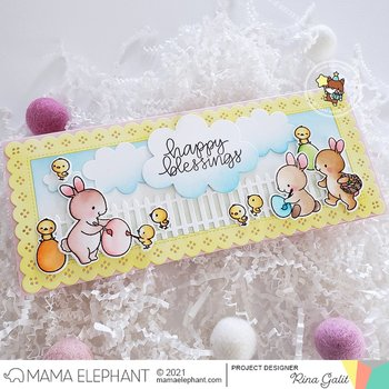 MAMA ELEPHANT-SLIM FANCY FENCE - CREATIVE CUTS