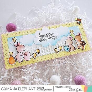 MAMA ELEPHANT-SLIM FANCY FENCE - CREATIVE CUTS