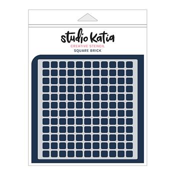 STUDIO KATIA-SQUARE BRICK STENCIL