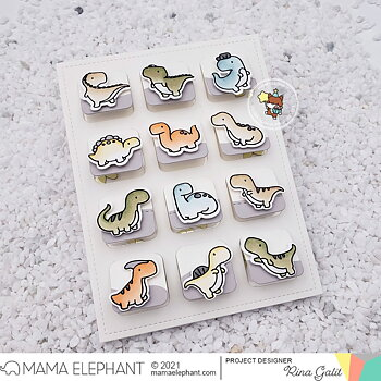 MAMA ELEPHANT-LIFT FLAP GRID - CREATIVE CUTS
