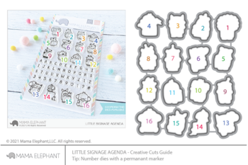 MAMA ELEPHANT-LITTLE SIGNAGE AGENDA - CREATIVE CUTS