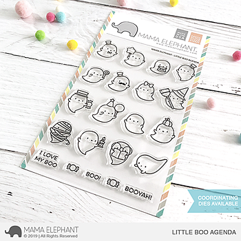 MAMA ELEPHANT -LITTLE BOO AGENDA