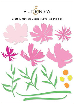 ALTENEW -Craft-A-Flower: Cosmos Layering Die Set