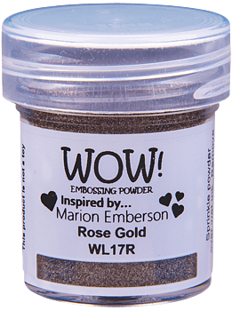 WOW EMBOSSING POWDER  -WL17 Rose Gold