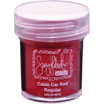WOW EMBOSSING POWDER  - WH01R  CAR  RED