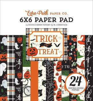 ECHO PARK PAPER-  TRICK OR TREAT 6 x 6 Paper Pad