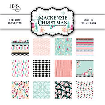 LDRSCreative -  6x6 Inch Paper Pack MacKenzie