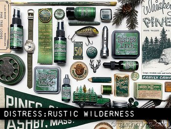 RANGER Tim Holtz Distress Ink Pad Re-Inker Rustic Wilderness