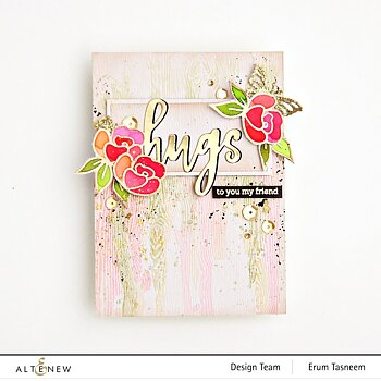 ALTENEW -Mini Delight: Petite Posy Stamp & Die Set