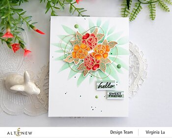 ALTENEW -Mini Delight: Bold Bloom Stamp & Die Set