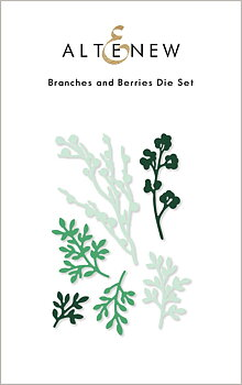 ALTENEW -Branches and Berries Die Set