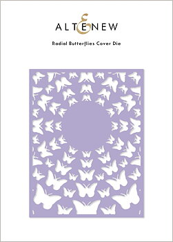 ALTENEW -Radial Butterflies Cover Die