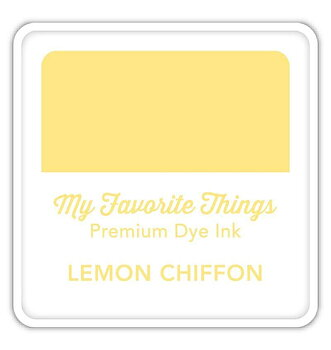 MY FAVORITE THINGS Premium Dye Ink Cube Lemon Chiffon