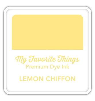 MY FAVORITE THINGS Premium Dye Ink Cube Lemon Chiffon